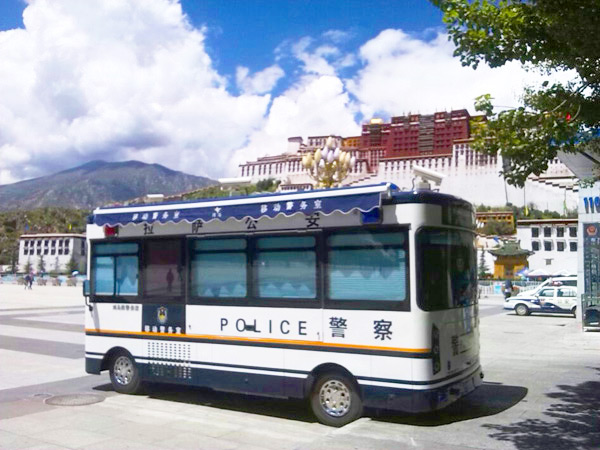 Mobile Police Station in Lasa